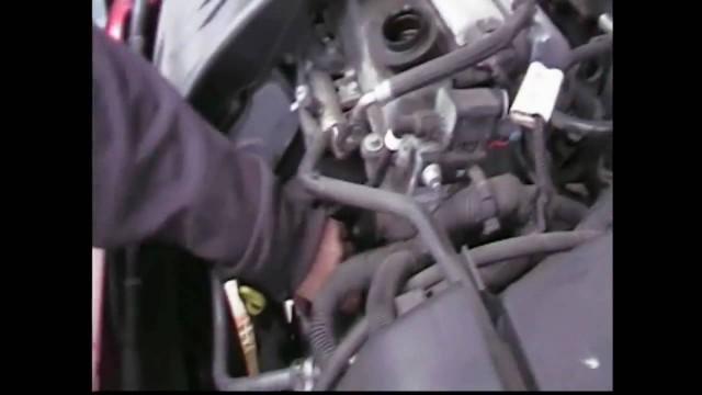 Замена масляного фильтра Chevrolet Cobalt
