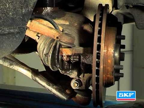 Замена подшипника опоры амортизатора Ford Mondeo