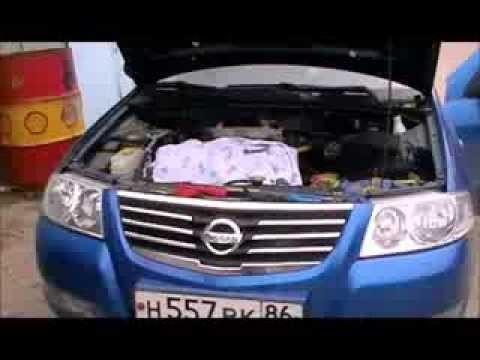 Чистка дроссельной заслонки своими руками Nissan Almera Classic