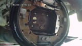 Замена задних тормозных колодок Ford Fusion