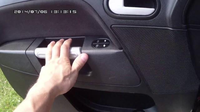 Снятие обшивки двери Ford Fusion