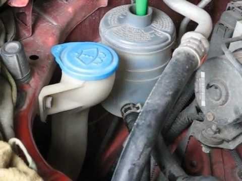 Замена жидкости гидроусилителя руля Honda Element