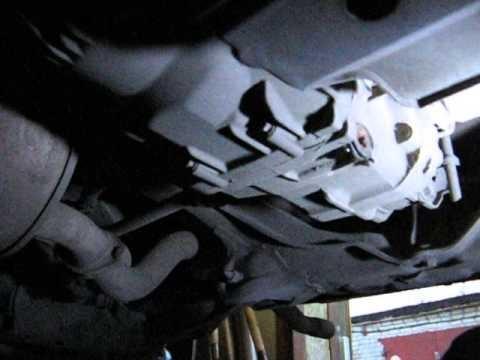 Замена масла в редукторе Honda Element