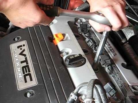 Замена свечей зажигания Honda Element