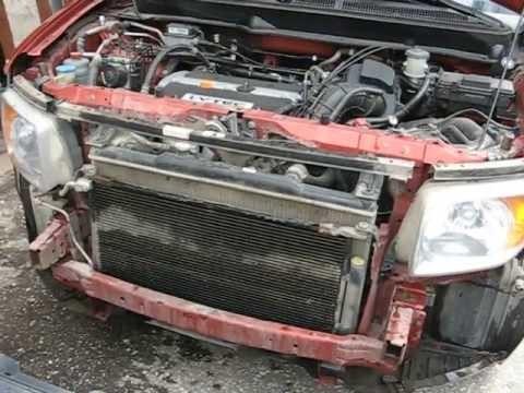 Установка противотуманных фар Honda Element