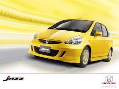 Замена передних колодок Honda Jazz