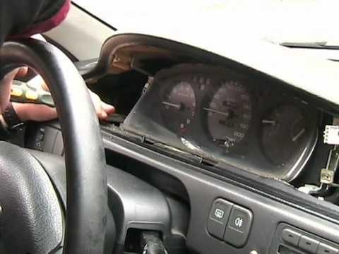 Замена подсветки на панели приборов Honda Civic