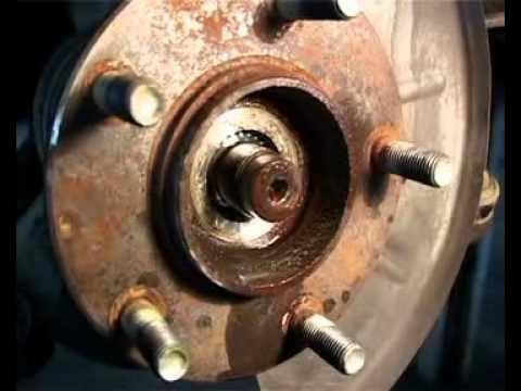 Замена подшипника ступицы Mazda 6