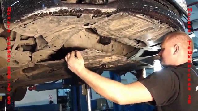 Замена сцепления Mazda 6