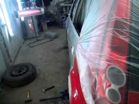 Покраска кузова Ford Fiesta