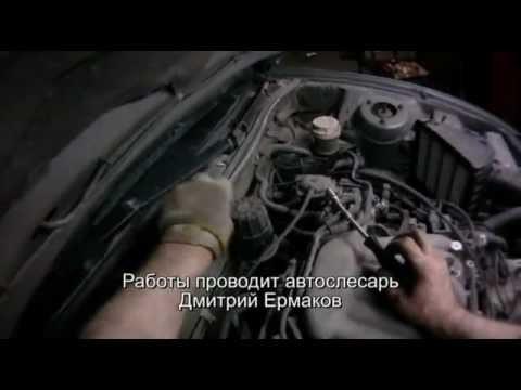Снятие клапанной крышки двигателя Mitsubishi Galant