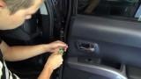 Снятие обшивки двери Mitsubishi Outlander