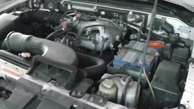 Установка предпускового подогревателя двигателя Северс-М Mitsubishi Pajero
