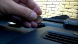 Замена батарейки в ключе Nissan Tiida