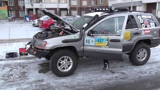 Замена датчика распредвала Jeep Grand Cherokee WJ