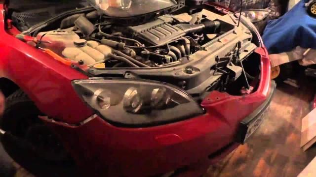 Замена фары Mazda 3