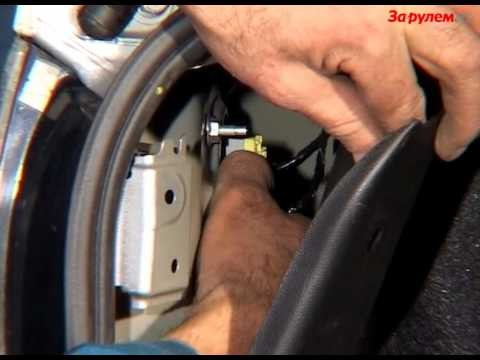 Замена ламп задних фонарей Mazda 3