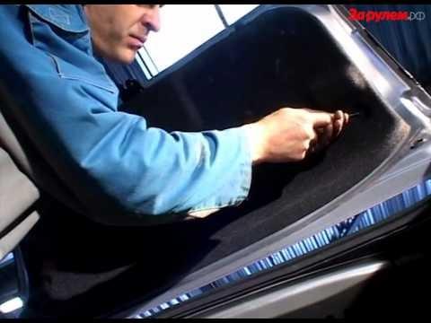 Замена лампы фонаря дополнительного сигнала торможения Mazda 3