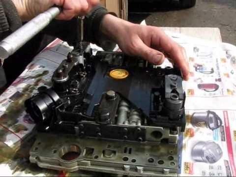 Замена масла в АКПП Mercedes W210