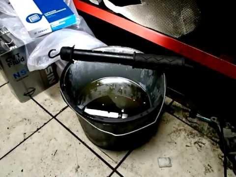 Замена масла в вариаторе Nissan Teana