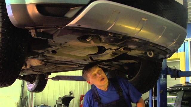 Замена моторного масла Mitsubishi Outlander