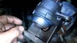 Замена передних тормозных колодок и дисков Mazda 323