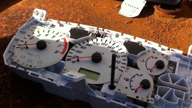 Замена подсветки панели приборов Mitsubishi Lancer 9