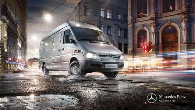 Замена помпы Mercedes Sprinter 903