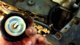 Замена приводного ремня генератора Mitsubishi Lancer 10