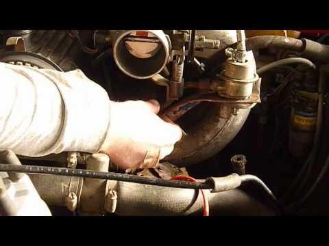 Замена топливных форсунок Ford Sierra