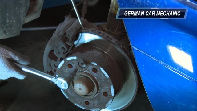 Замена тормозных колодок Mercedes Sprinter