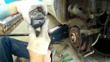 Замена тормозных колодок Nissan Note