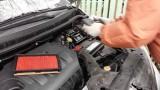Замена воздушного фильтра Nissan Tiida