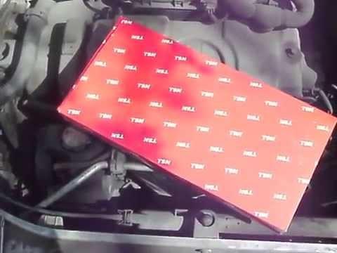 Замена салонного фильтра Peugeot 206