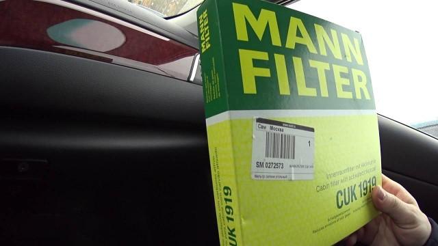 Меняем салонный фильтр Toyota Camry V50