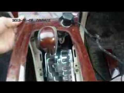 Разборка панели Toyota Corolla