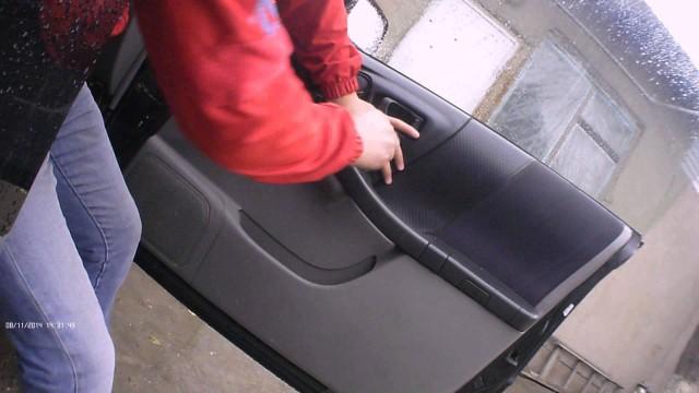 Снятие обшивки двери Subaru Forester SF5