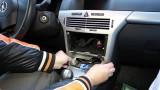 Снятие приборной панели, снятие облицовки панелей салона Opel Astra H