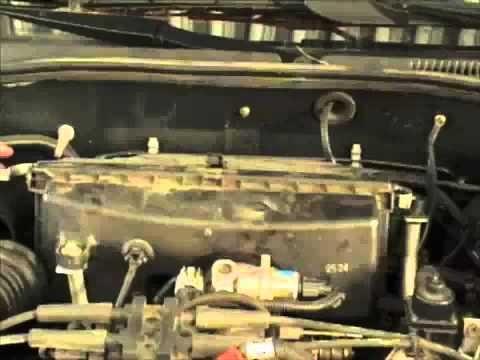 Замена фильтра воздуха Subaru Legacy Outback