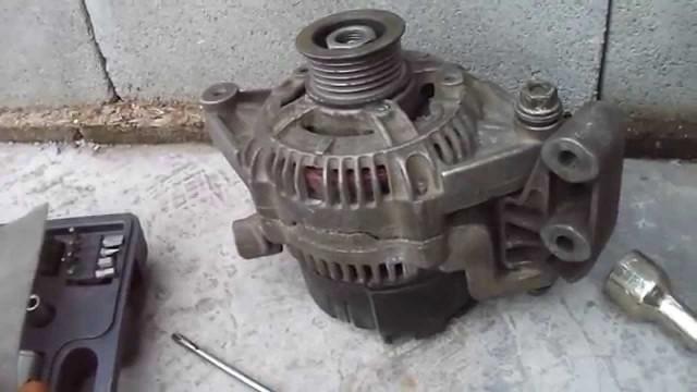 Замена генератора Opel Vectra A