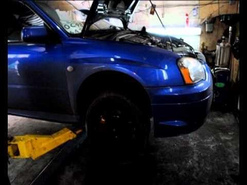 Замена масла Subaru Impreza WRX