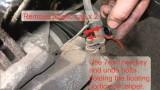 Замена передних тормозных колодок Opel Vectra C
