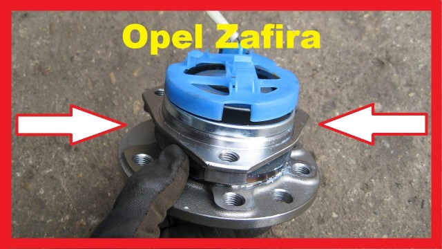 Замена подшипника передней ступицы Opel Zafira
