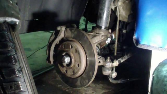Замена подшипника передней ступицы Peugeot 206