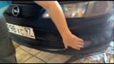 Замена противотуманки Opel Vectra B