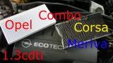 Замена салонного фильтра Opel Corsa С