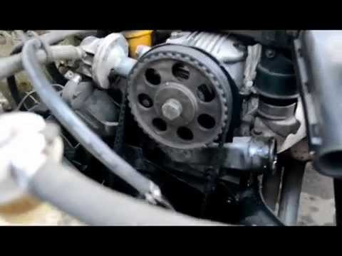 Замена термостата Opel Kadett