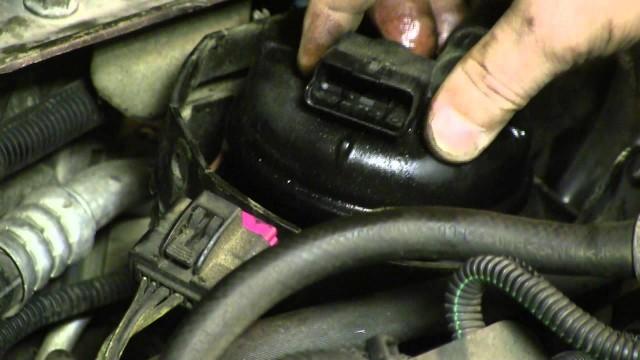 Замена топливного фильтра Opel Zafira