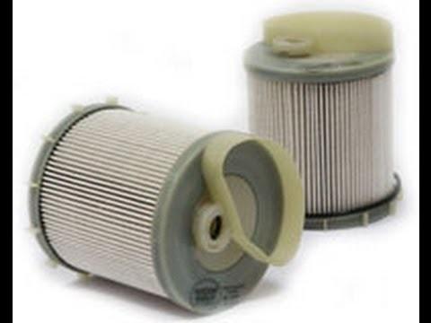 Замена топливного фильтра SsangYong Actyon