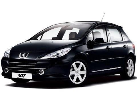 Замена тормозных дисков и колодок Peugeot 307